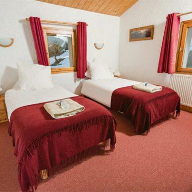 Chalet Madeleine, Bedrooms