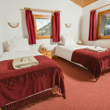 Chalet Madeleine Bedrooms