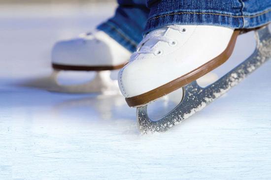 Meribel Activities Ice Skating